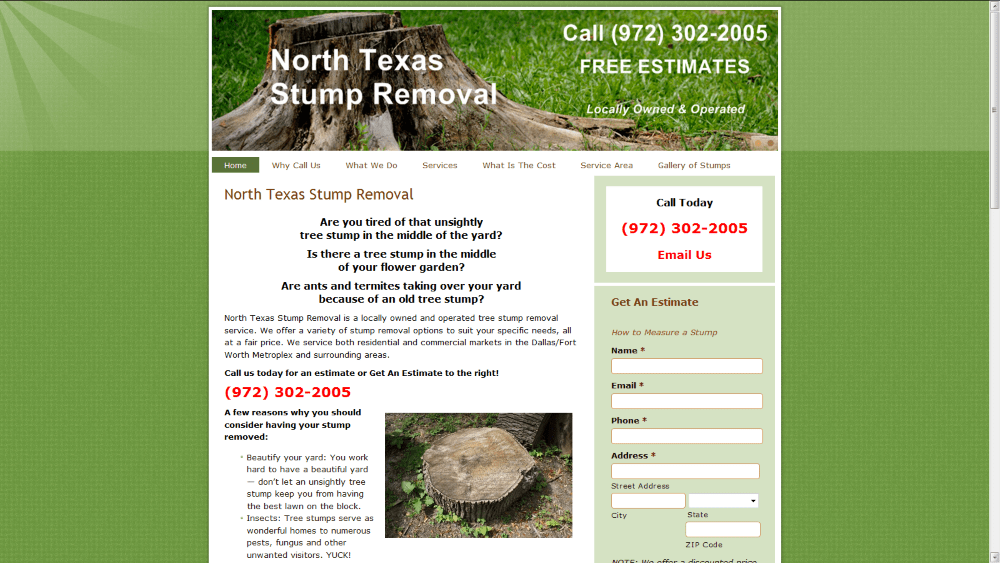 North Texas Stump Removal